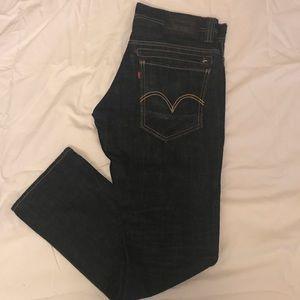 Levies 511 skinny jeans 31x30
